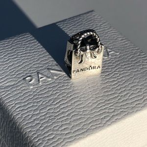 Authentic Pandora shopping bag charm